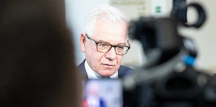 Jacek Czaputowicz: Wybór szefa KE pokazał rzeczywistą pozycję Polski - zdjęcie