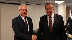 Jacek Czaputowicz spotkał się z Ławrowem. Minister upomniał się o zwrot wraku Tu-154M - miniaturka