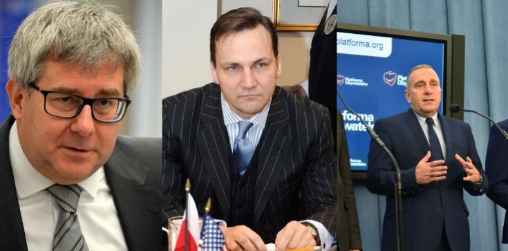 Ryszard Czarnecki dla Frondy: Platforma do robienia biznesu, nie 'obywatelska' - zdjęcie