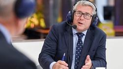 Ryszard Czarnecki po wizycie w obozie dla uchodźców - miniaturka