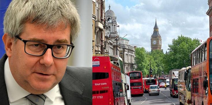 Ryszard Czarnecki dla Frondy: Brexit to pewien geopolityczny kataklizm - zdjęcie