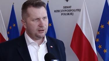 Minister Czarnek o protestach: To lewacko-liberalna rewolucja! - miniaturka