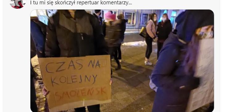 ,,Czas na kolejny Smoleńsk'' - Czy to nowe plany lewackiej dziczy?  - zdjęcie