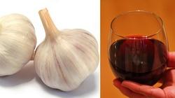 Czosnek i czerwone wino - koktajl na zarazki! - miniaturka