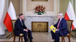 Prezydent dla TVN: Polska jako kraj graniczny UE ma obowiązek strzec granicy przed nielegalną migracją - miniaturka