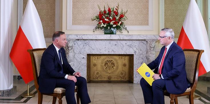 Prezydent dla TVN: Polska jako kraj graniczny UE ma obowiązek strzec granicy przed nielegalną migracją - zdjęcie