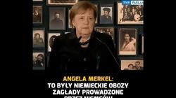 Merkel w Auschwitz. ,,Trzeba jasno nazwać sprawców. My, Niemcy jesteśmy to winni ofiarom i nam samym'' - miniaturka