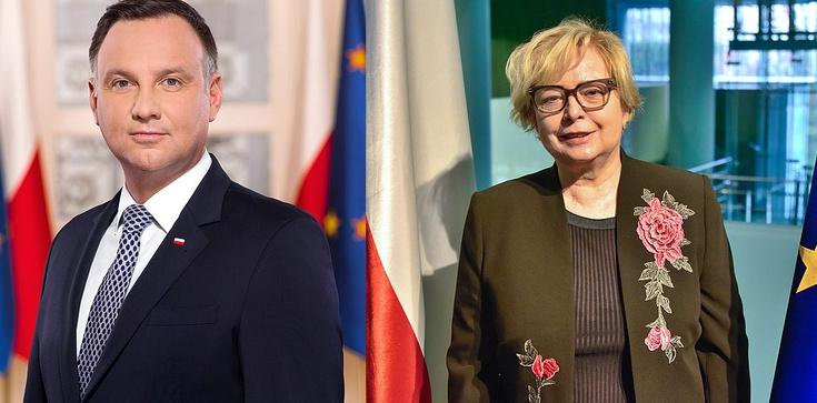 Andrzej Duda o Gersdorf: Ogarnia mnie wstyd - zdjęcie