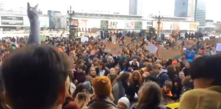 Szokujące transparenty na Młodzieżowym Strajku Klimatycznym! ,,Zniszcz mi pusie, nie planetę'' - zdjęcie