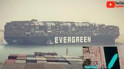 Jeden z najważniejszych szlaków morskich zablokowany przez olbrzymi kontenerowiec [Wideo] - miniaturka