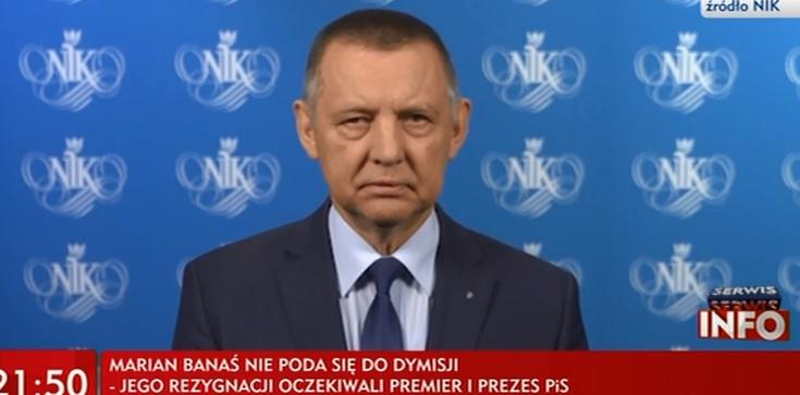 Marian Banaś wydał oświadczenie - zdjęcie