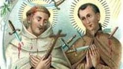 Błogosławieni męczennicy Dionizy i Redempt. Bronili wiary w Indiach - miniaturka