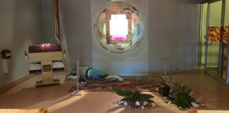 Oburzający akt wandalizmu w kościele w Koninie - zdjęcie