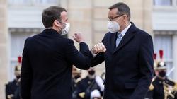 ,,Decydują się losy Unii Europejskiej''. Premier po rozmowie z prezydentem Macronem  - miniaturka