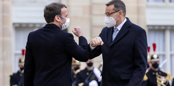 ,,Decydują się losy Unii Europejskiej''. Premier po rozmowie z prezydentem Macronem  - zdjęcie