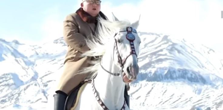Kim Dzong Un na białym koniu 'planuje wielką operację' - zdjęcie