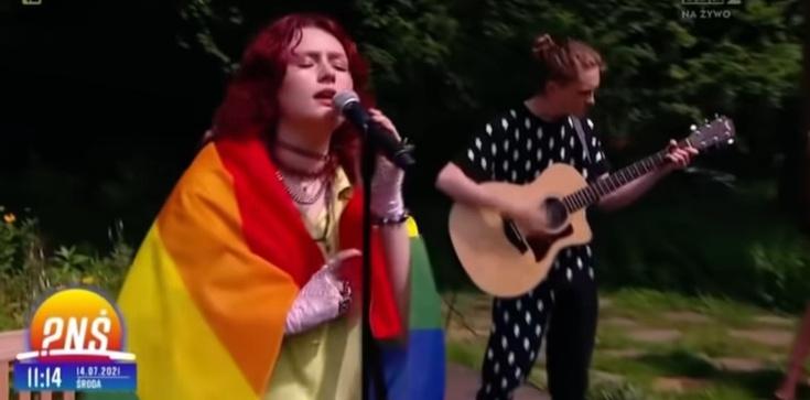 Happening LGBT na antenie TVP. Wydawca traci pracę - zdjęcie