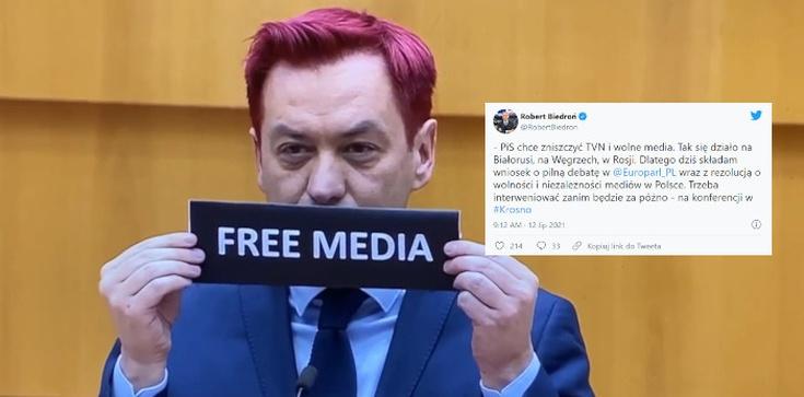 Totalny Odlot. Biedroń chce, aby PE debatował o… TVN - zdjęcie