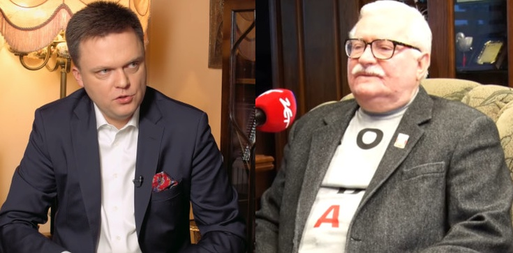 HIT! Wałęsa apeluje do Hołowni, aby zrobił miejsce Tuskowi  - zdjęcie