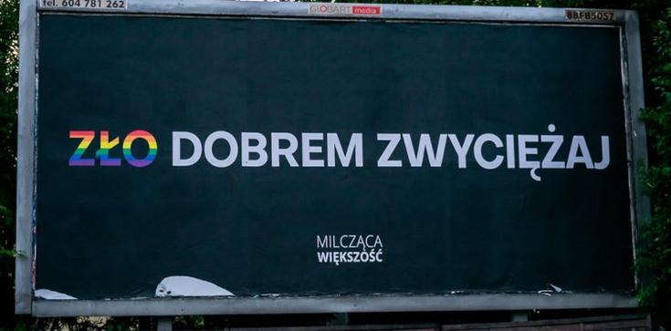 Wolność słowa w wydaniu LGBT. Aktywiści próbowali zrywać plakaty  - zdjęcie