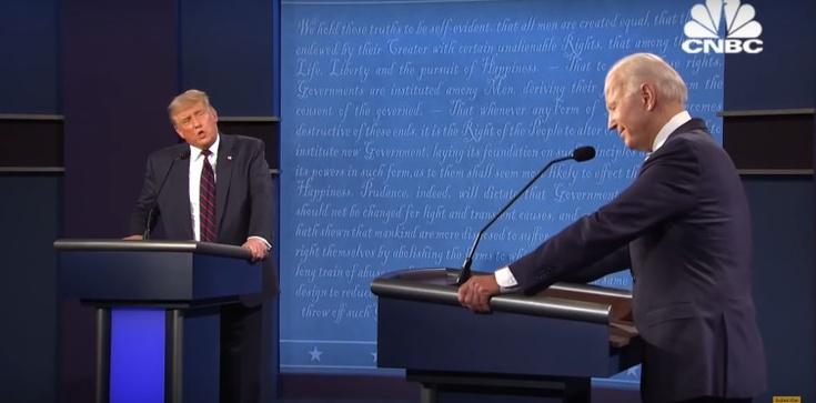 Ostatnie starcie przed wyborami. Trump obiecuje szczepionkę, Biden restrykcje - zdjęcie