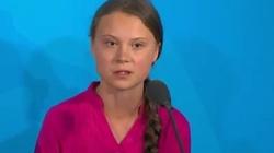 Chore dziecko 'żywą tarczą' ekolewactwa? Przerażające wystąpienie Grety Thunberg - miniaturka