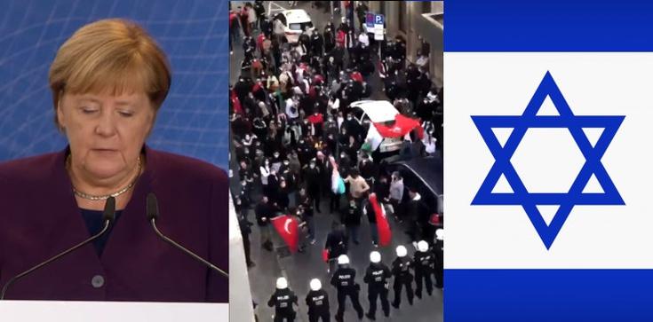 Merkel zaniepokojona dużym wzrostem antysemityzmu w Niemczech - zdjęcie