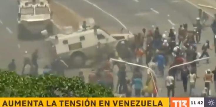 Zbrojne powstanie w Wenezueli. Sytuacja zaostrza się - zdjęcie