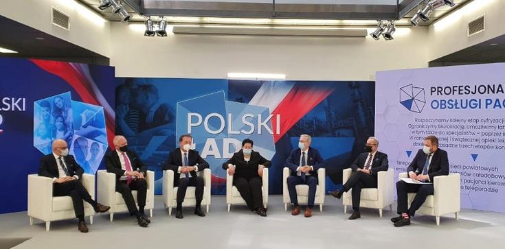 7 proc. PKB na zdrowie, profilaktyka dla osób powyżej 40 lat… Minister prezentuje Polski Ład w ochronie zdrowia  - zdjęcie