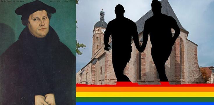 Schizma w Niemczech oficjalnie rozpoczęta. Dziś masowe ,,błogosławieństwa'' par LGBT  - zdjęcie