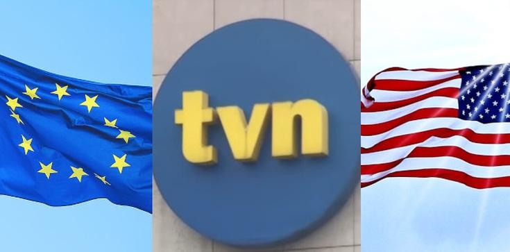 Waszyngton i Bruksela murem za TVN  - zdjęcie