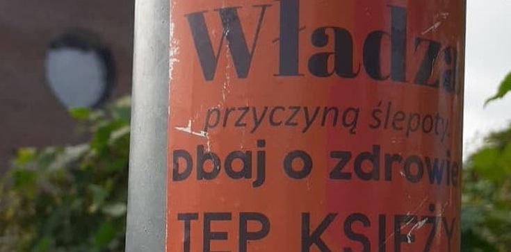 Szokujące! Kolejna akcja w Szczecinie wzywająca do ,,tępienia księży''  - zdjęcie