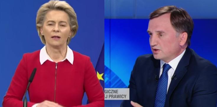 Min. Ziobro o propozycji szefowej KE: ,,Przewodnicząca nie zna traktatów''  - zdjęcie