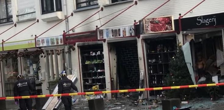 Wybuchy w polskich sklepach w Holandii. Jest 9. podejrzanych  - zdjęcie