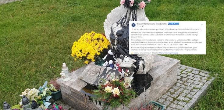 Aborcjoniści zdewastowali pomnik dzieci nienarodzonych. Teraz staną przed sądem - zdjęcie