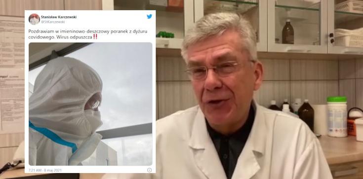 Relacja z dyżuru covidowego. Dr Karczewski: Wirus odpuszcza - zdjęcie