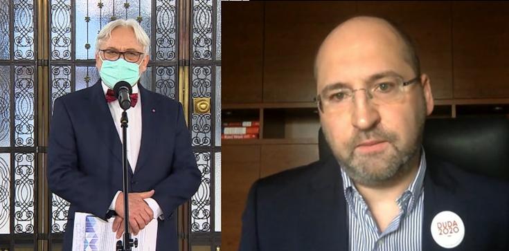 Prof. Maksymowicz wyrzucony z Porozumienia… przez Bielana - zdjęcie