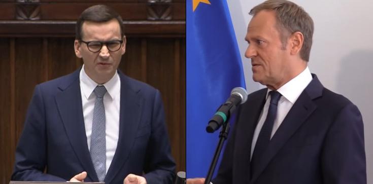 ,,Jak rozwaliłem UE''. Premier podsuwa Tuskowi pomysł na tytuł drugiego tomu ,,Szczerze'' - zdjęcie