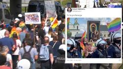Profanacja na marszu LGBT w Częstochowie. Jest zawiadomienie do prokuratury - miniaturka