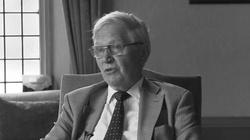 Odszedł prof. Zbigniew Pełczyński. Uczył filozofii Billa Clintona  - miniaturka
