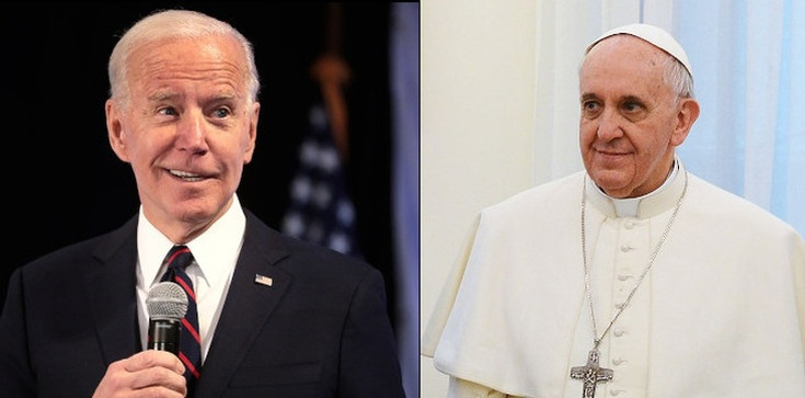 Papież spotka się z Bidenem. Porozmawiają o aborcji?  - zdjęcie