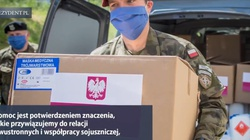 Ponad 20 tirów pomocy medycznej i 650 tys. dawek szczepionek. Polska pomaga Ukrainie w walce z pandemią!  - miniaturka