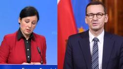 Jourova: Wnioski do polskiego TK kwestionują podstawowe zasady UE - miniaturka