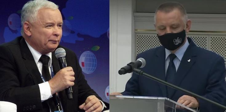 Prezes PiS mocno o Banasiu: Taki człowiek nie może być szefem NIK - zdjęcie