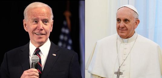 Franciszek odmówił Bidenowi uczestnictwa w papieskiej Mszy Świętej - miniaturka