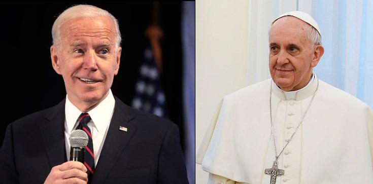 Franciszek odmówił Bidenowi uczestnictwa w papieskiej Mszy Świętej - zdjęcie