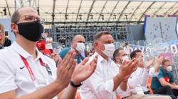 ,,NS2 zaszkodzi bezpieczeństwu UE''. PAD spotkał się w Tokio z Macronem  - miniaturka