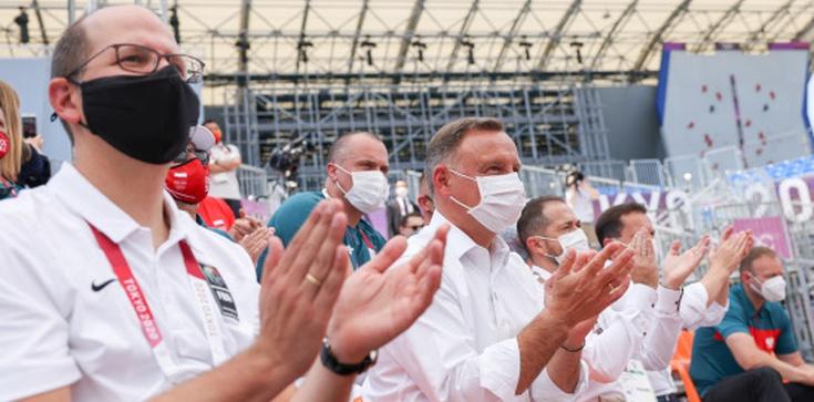 ,,NS2 zaszkodzi bezpieczeństwu UE''. PAD spotkał się w Tokio z Macronem  - zdjęcie