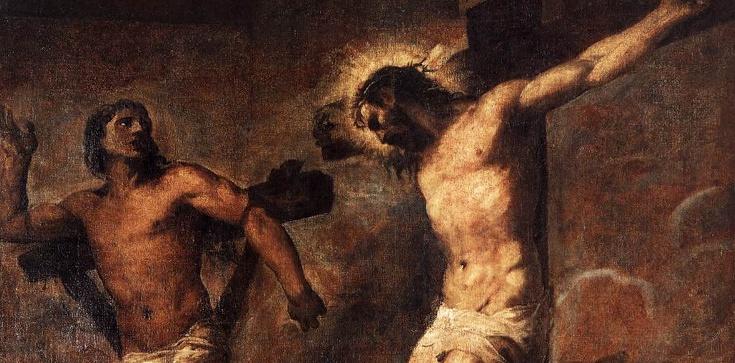 Święty Dobry Łotr - symbol Bożego Miłosierdzia - zdjęcie
