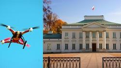 Dron nad Belwederem. Zatrzymano dwie Rosjanki i Łotysza - miniaturka